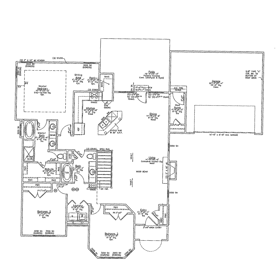 Whittington ranch reverse 1 1 2 story bellah Reverse one and a half story house plans